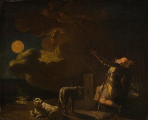 Nicolai Abraham Abildgaard - Fingal Sees the Ghosts of his Forefathers by Moonlight