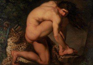 Nicolai Abraham Abildgaard - The Wounded Philoctet (Den sårede Filoktet)