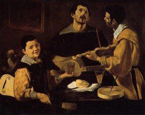 Diego Velázquez - Three Musicians