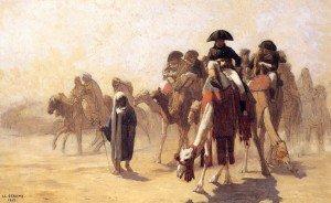 Jean-Léon Gérôme - General Bonaparte with His Military Staff in Egypt