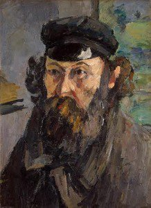Paul Cézanne - Self Portrait in a Casquette