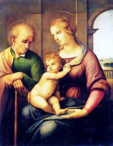 Raphael - Holy Family with St. Joseph