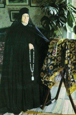 Kustodiev, Boris - Abbess./Igumenya