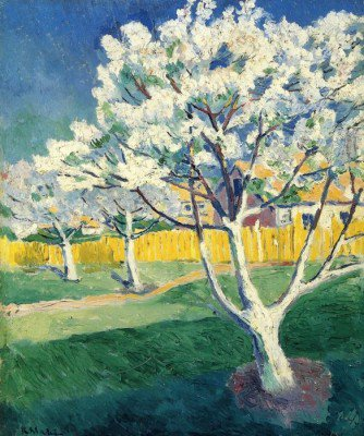 Malevich, Kazimir - Apple Tree in Blossom