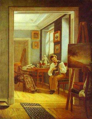 Zelentsov, Kapiton - An Artist's Room
