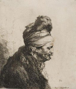 Jan Lievens - Bust of an Oriental Man, Facing Right