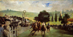 Édouard Manet - The Races at Longchamp