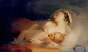 Thomas Sully - Mother and Child