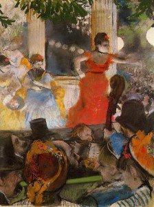 Edgar Degas - Cafe Concert - At ´Les Ambassadeurs´