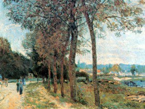 Alfred Sisley - The Seine at Marly
