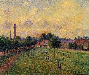 Camille Pissarro - Kew Gardens