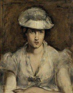 Édouard Manet - Marguerite Gauthier-Lathuille