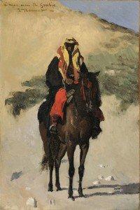 Léon Joseph Florentin Bonnat - Arabian Horseman