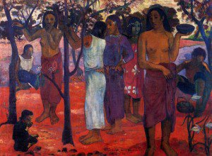 Paul Gauguin - Nave Nave Mahana