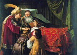 Jan Victors - Jacob Blessing the Sons of Joseph