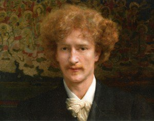 Sir Lawrence Alma-Tadema - Portrait of Ignacy Jan Paderewski