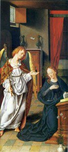 Bartholomäeus Bruyn the Elder - The Annunciation