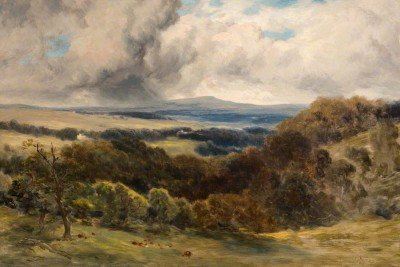 Cameron, David Young - Over the Hills, near Glasgow
