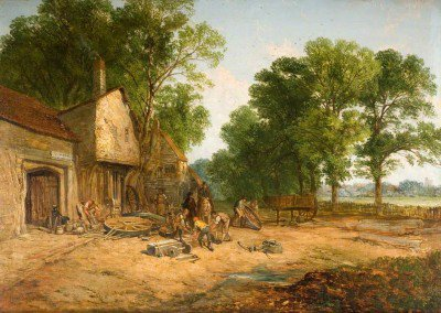 Holland, James - The Wheelwright's Shop