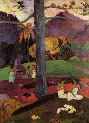 Gauguin, Paul - Mata Mua (In Olden Times)
