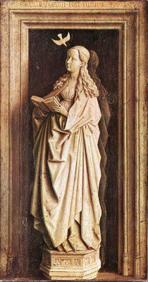 Eyck, Jan van - Annunciation