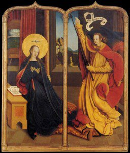 Bernhard Strigel - The Annunciation