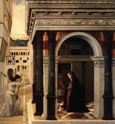 Bellini, Gentile - Annunciation
