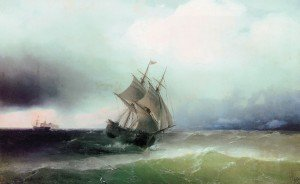 Ivan Constantinovich Aivazovsky - The Approaching Storm