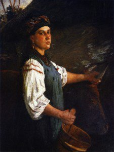Nikolai Nikolaevich Ge - Agafiya Ignatievna Sliusareva