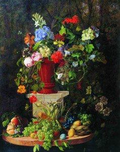 Vasily Sadovnikov - Flowers and Fruit