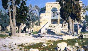 Vasily Polenov - The Temple of Omar