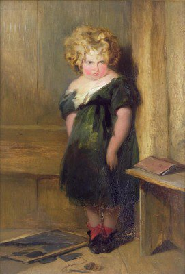 Landseer, Sir Edwin - A Naughty Child