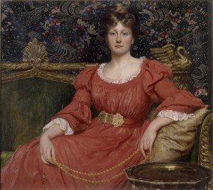 Sir William Blake Richmond - Mrs Luke Ionides (Elfrida Ionides)