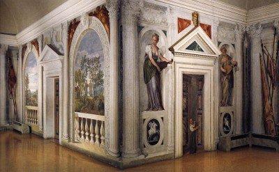 Veronese, Paolo - View into the Cruciform Sala a Crociera
