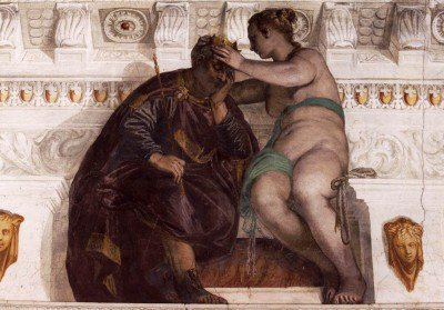 Veronese, Paolo - Chance Crowning a Sleeping Man