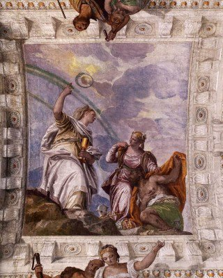 Veronese, Paolo - Mortal Man Guided to Divine Eternity
