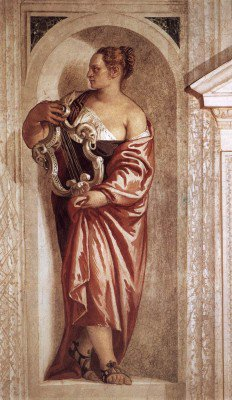 Veronese, Paolo - Muse with Lyre