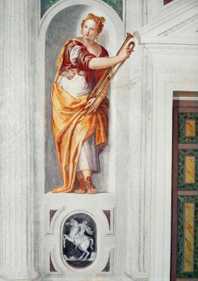Veronese, Paolo - Musician with a Horn