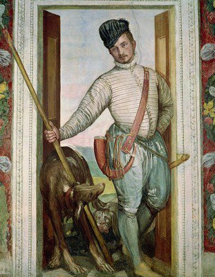 Veronese, Paolo - Nobleman in Hunting Attire