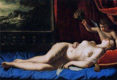 Gentileschi, Artemisia - Sleeping Venus