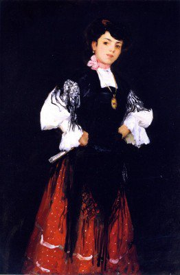 Henri, Robert - Spanish Girl of Madrid (Una Chula)