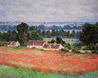 Monet, Claude - Poppy Field at Giverny