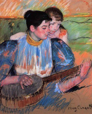 Cassatt, Mary - The Banjo Lesson