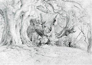 Samuel Palmer - Ancient Trees, Lullingstone