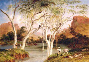 Thomas Baines - Incident in the North West Australian Expedition