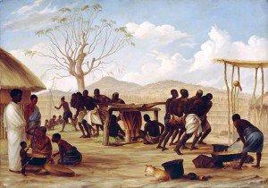 Thomas Baines - Manufacture of Sugar at Katipo