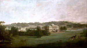 Attributed to George Curt the Elder - Kedleston Hall from the South