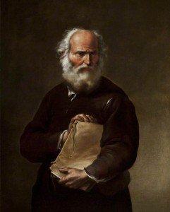 Salvator Rosa - A Philosopher