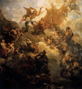 Franҫois Lemoyne - The Apotheosis of Hercules
