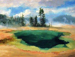 Abby Williams Hill - Emerald Pool